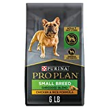 Purina Pro Plan Small Breed Dog Food With Probiotics for Dogs, Shredded Blend Chicken & Rice Formula - 6 lb. Bag
