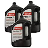 Mercury 2-Stroke Outboard Oil Optimax Case (3) Gallons