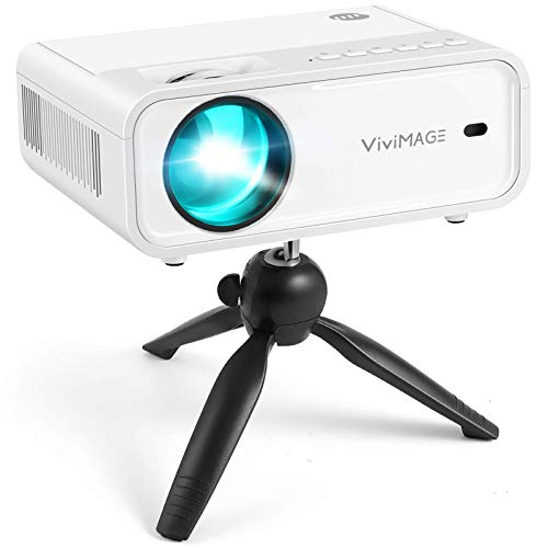 VIVIMAGE Explore 2 Mini WiFi Projector, Portable 1080P Supported Projector, 40,000 Hours Lamp Life...
