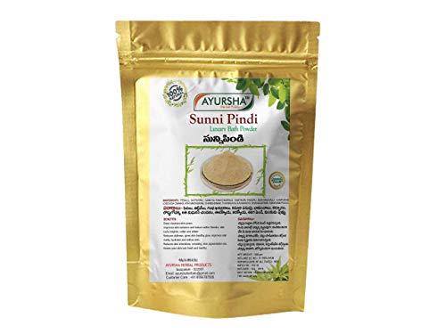 Ayursha Herbal Bath Powder, Sunnipindi (Ubtan Pack) - 100% Natural - Skin Repair & Tan Removal - 500g