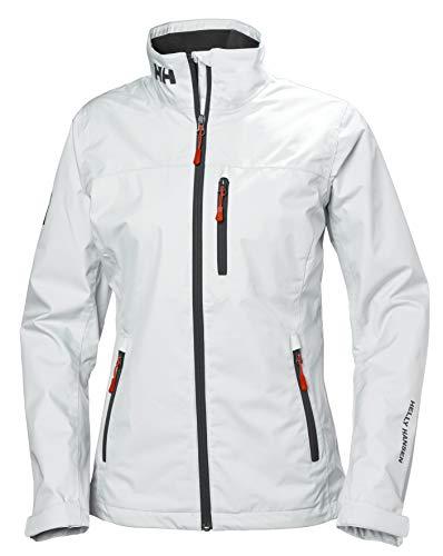 Helly Hansen W CREW MIDLAYER JACKET – Atmungsaktive Multifunktions-Jacke zum Wandern, Segeln oder Skifahren – Wetterfeste Doppeljacke für Damen