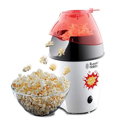 Russell Hobbs Popcornmaschine Fiesta (Heißluft Popcorn Maker, ohne Fett & Öl, inkl. Messlöffel), 1200 Watt, 24630-56