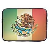 LOVE GIRL Bandera de México Gradient.jpg Bolsa de Funda para computadora portátil 13 Pulgadas Ordenador portátil PC Funda Protectora de Neopreno Cubierta Funda Portador de Bolsa
