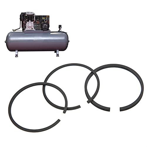 Les-Theresa 3 pezzi Kit set di fasce elastiche standard per compressore d'aria Strumento di tenuta del cilindro Sostituzione dell'unit pneumatica
