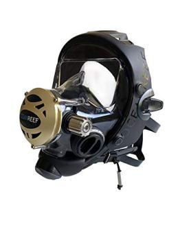 OCEAN REEF - Predator Extender IDM Full FACE Scuba MASK - M/L