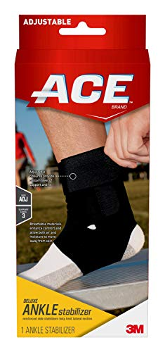 ACE Deluxe Ankle Stabilizer, Money Back Guarantee