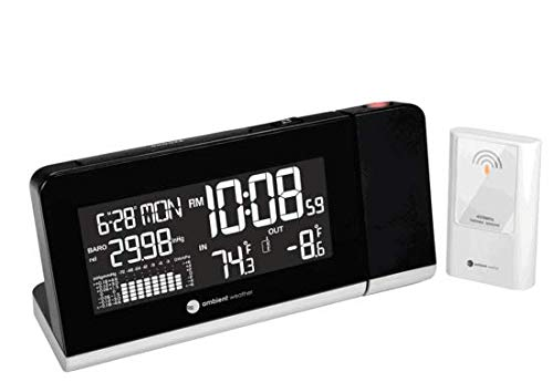 Ambient Weather WS-8460 Projection Clock...