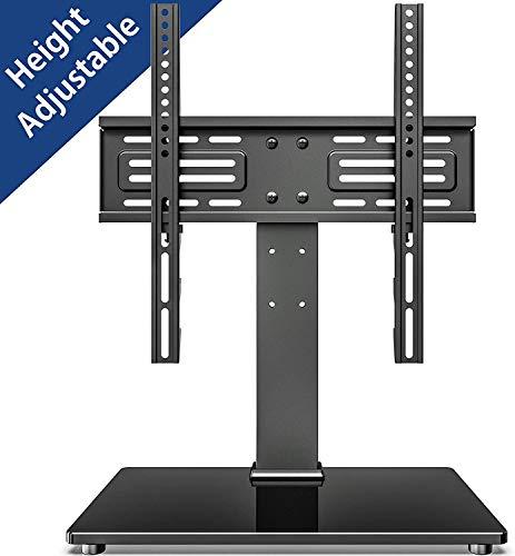 FITUEYES TV Ständer TV Standfuss für 26-55 Zoll LCD LED OLED Plasma Flach & Curved Fernseher Höhenverstellbar Max.VESA 400x400mm bis 40kg TV