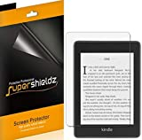 (3 Pack) Supershieldz for Kindle Paperwhite (10th Generation 2018 Release) Screen Protector, 0.23mm, High Definition Clear Shield (PET)
