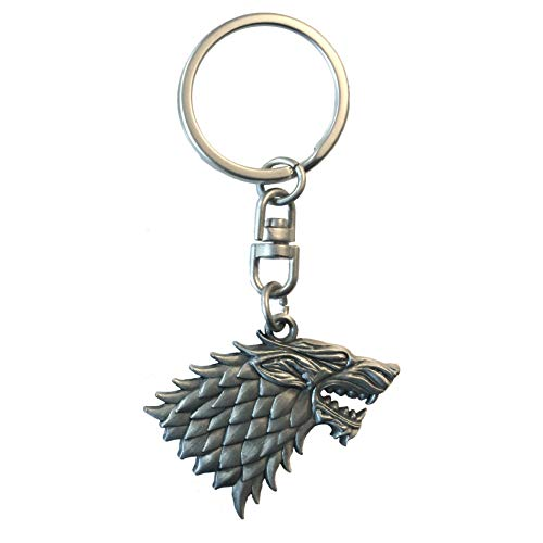 Game Of Thrones Juego de Tronos key060casa de Stark 3d efecto llavero