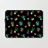 Crazy Corner Plants in Pot Printed MacBook Pro 13 Inch Laptop Sleeve/Laptop Case Cover with Shockproof & Waterproof Linen On All Inner Sides | Apple MacBook Pro Laptop Sleeve | Canvas