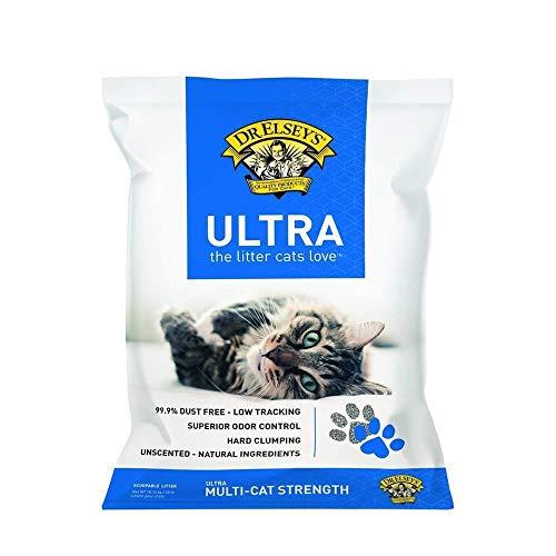 Dr.Elsey's Feline Ultra Premium Clumping Cat Litter 40 Pound Bag