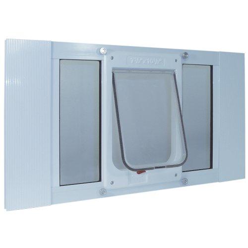Ideal Pet Products Aluminum Sash Window Pet Door,...
