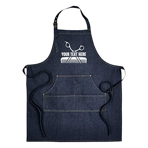 Hot4TShirts Hair Stylist Apron — Custom Denim Hairdresser...