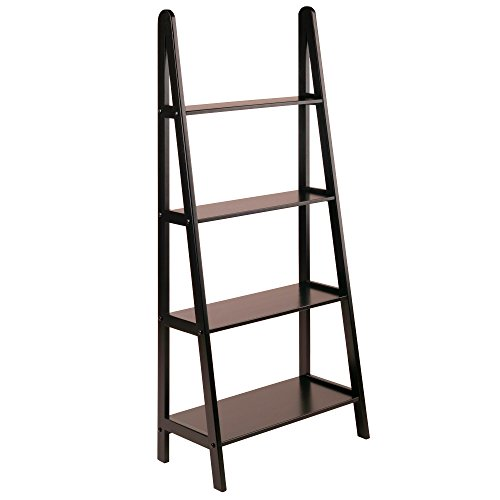 1. Winsome Wood 4-Tier A-Frame Shelf, Dark Espresso