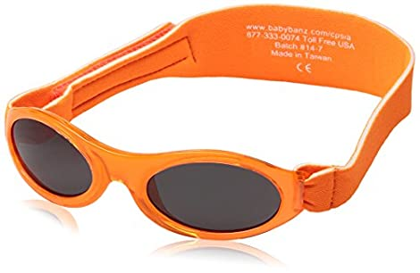 Fashionable UVA & UVB Sun Protection for Infants and Babies Age: 0-2 Yrs. Often, parents overlook their children's eye protection from the sun. And yet, kids spend much more time outdoors than most adults do, making it extremely important to have yea...
