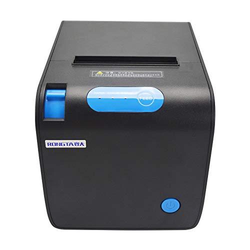Stampante a ricevuta termica POS – Porta Ethernet serie USB rotoli di carta termica 80 mm...