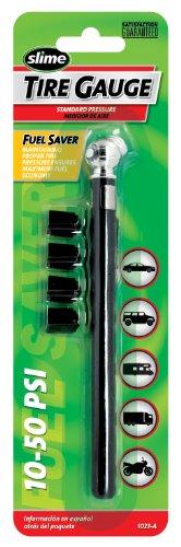 Slime 1023-A Pencil Tire Gauge, 10-50 PSI