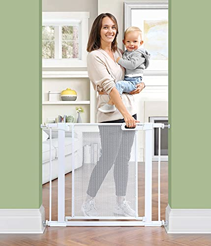 Ohgeni Baby Gate for Stairs, Extra Wide 37.8-Inch...