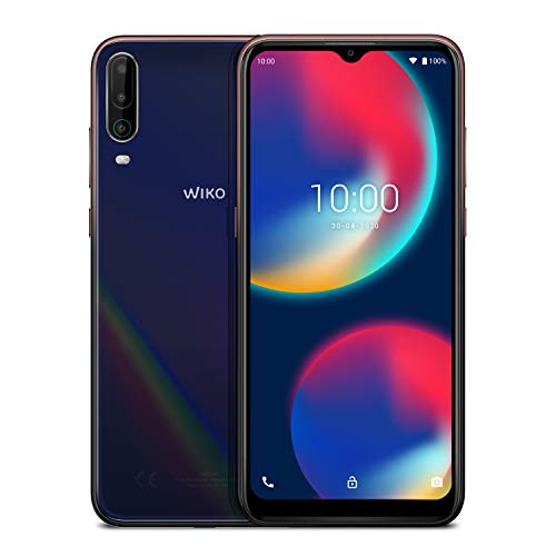 "WIKO View4 - Smartphone de 6,52"" HD+ (Triple Cámara, 5000mAh..."