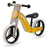 Kinderkraft Draisienne en Bois UNIQ, Eco, Enfant, Vélo Sans Pédales, Jaune...