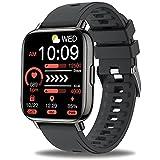 Montre Connectée Femmes Homme, Sudugo 1,69'' Montre Intelligente Smartwatch Montre Sport avec Podometre Cardiofrequencemètre Sommeil Chronometre, Bracelet...