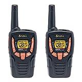 Cobra ACXT345 Walkie Talkies 25-Mile Two-Way Radios (Pair)