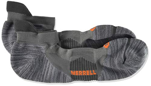Merrell Men's 1 Pack Performance Ultra Light Running Tab Socks,...