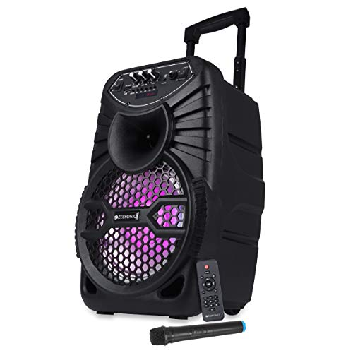 Zebronics ZEB-100 MOVING MONSTER X8L Wireless Bluetooth Trolley Speaker With Supporting SD Card,...