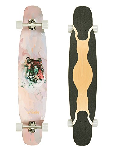 VOLADOR 46inch Dancing Longboard Maple Deck (Tiger)