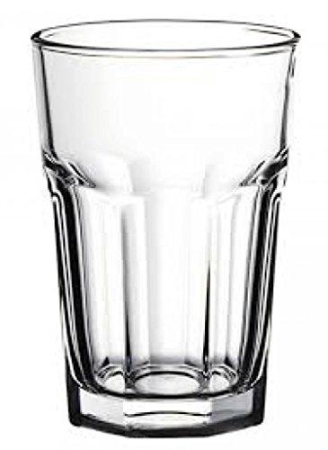 Pasabahce Set 12 Bicchieri in Vetro Casablanca 36 Arredo Tavola, cl