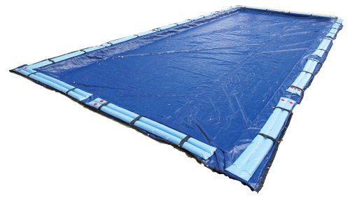 Blue Wave BWC958 Gold 15-Year 16-ft x 32-ft Rectangular In Ground Pool Winter Cover,Royal Blue