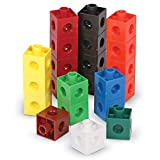 TEACH children to count to 100 by ones and tens while building fine motor and email math skills. 10 different kid-friendly colors, these cubes are terrific for grouping by color and for exploring patterns. Cubes link together on all sides of each cub...