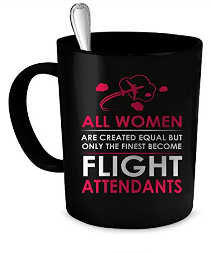 Flight Attendants Coffee Mug. Flight Attendants gift 11 oz....
