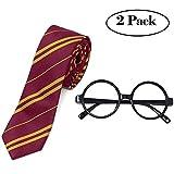 Tacobear Kit d'accessoires pour déguisement Halloween cravate et paire de...