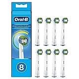 Oral-B Precision Clean Lot de 8 brossettes de rechange avec poils CleanMaximiser...