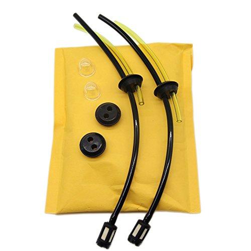 SWNKDG 2PS universel filtre à essence kit Tube d'étanchéité pour brosse Cutter tondeuse tondeuse Brosse Cutter Cisailles Sécateurs
