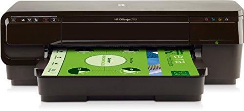 HP Officejet 7110 Wide Format ePrinter Color 4800 x 1200DPI A3 Wifi Negro - Impresora de tinta (PCL 3, 4800 x 1200 DPI, Negro, Cian, Magenta, Amarillo, DDR, A3, Cartulina, Sobres, Papel fotográfico, Papel normal)