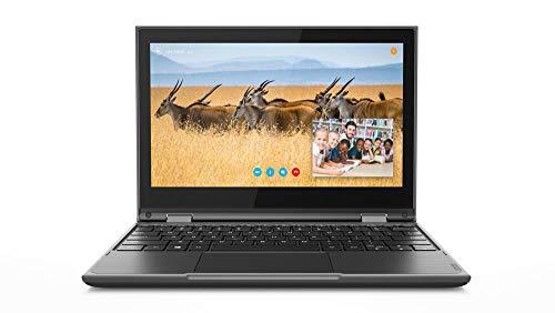 "Lenovo 300E Windows 2ND Gen 81M90001US 11.6"" Touchscreen 2 in 1 Notebook - 1366 X 768 - Celeron N4100-4 GB RAM - 64 GB Flash Memory - Gray - Windows 10 Pro 64-bit - Intel UHD Graphics 600 - in-"