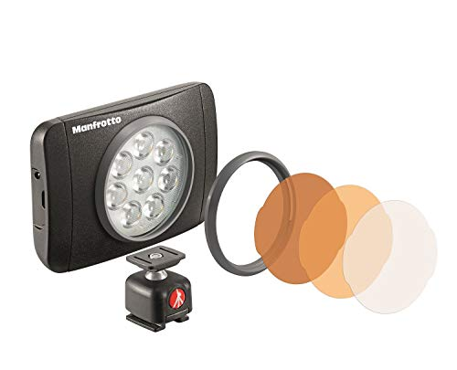 manfrotto LUMI LEDライト 550 lux MUSE MLUMIEMU-BK