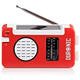 Duronic Hybrid Radio solaire / dynamo / USB – Appareil d'urgence /...