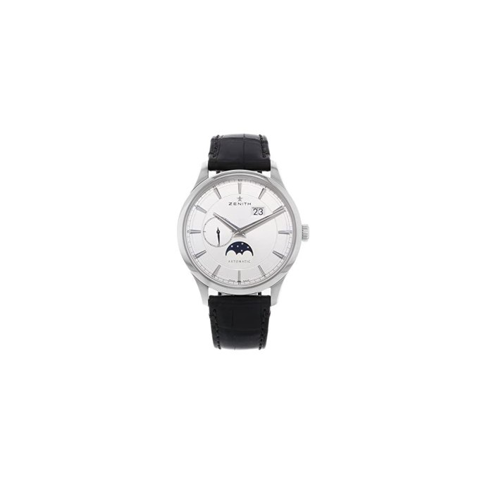 Zenith-Captain-Moonphase-Silver-Dial-Automatic-Mens-Watch-03214369101C498