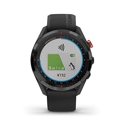 GARMIN(ガーミン) ゴルフナビ GPS Approach S62 ブラック 010-02200-20【日本正規品】