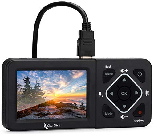 ClearClick HD Video Capture Box Ultimate - Capture and Stream Video from HDMI, RCA, VHS, VCR, DVD, Camcorders, Hi8