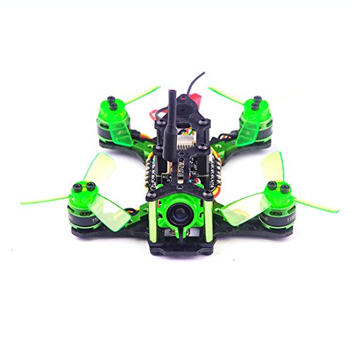 GEHOO GH Happymodel Quadcopter Mantis 85 Micro FPV Racing Drone BNF con Ricevitore Frsky D8 / Flysky 8ch / Specktrum DSM2 (Compatible Frsky D8 modee SBUS Receiver)