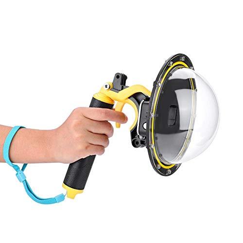 Tosuny Dome Port Professionale per Go PRO, Custodia Impermeabile Portatile per la videocamera di Azione Go PRO Hero 5/6/7 - Ideale per Immersioni, Arrampicata, Surf e Fotografia Aerea