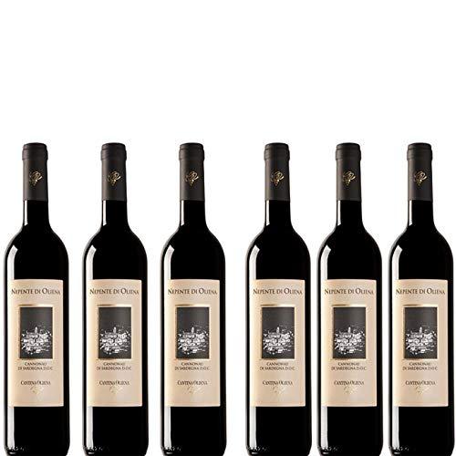 6 bottiglie per 0,75l -NEPENTE - CANNONAU DI SARDEGNA DOC ROSSO