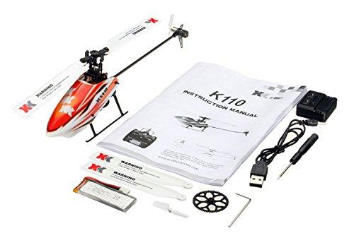DishyKooker XK K110 RC Elicottero Senza Spazzola RTF / BNF per Bambini Giocattoli Divertenti Regalo droni droni all'aperto K110 Senza Telecomando