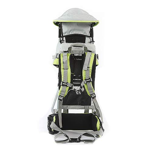 DBSCD Foldable Baby Travel Carrier Waterproof Baby Toddlr Hiking Backpack Outdoor Mountaineering Shade Carrier