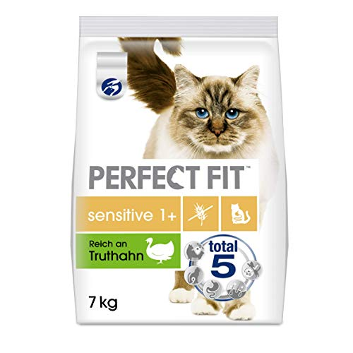 Perfect Fit Sensitive 1+ – Trockenfutter für erwachsene, sensible Katzen ab 1...